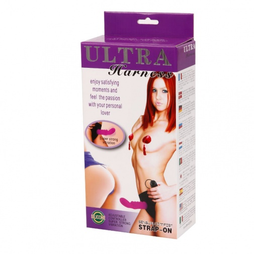 Krabička od strap-on vibrátora Ultra Harness G-Bod
