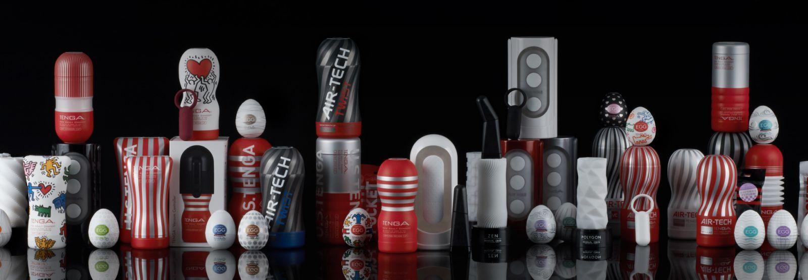 Kolekcia všetkých produktov Tenga