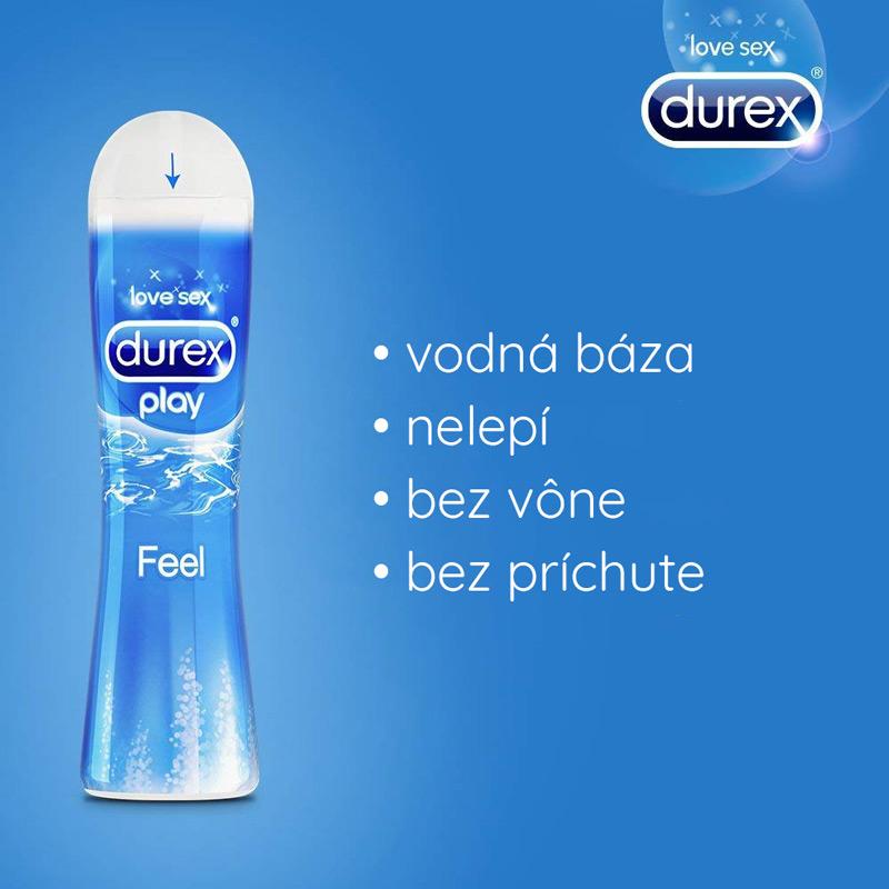 Durex Play Feel lubrikačný gél