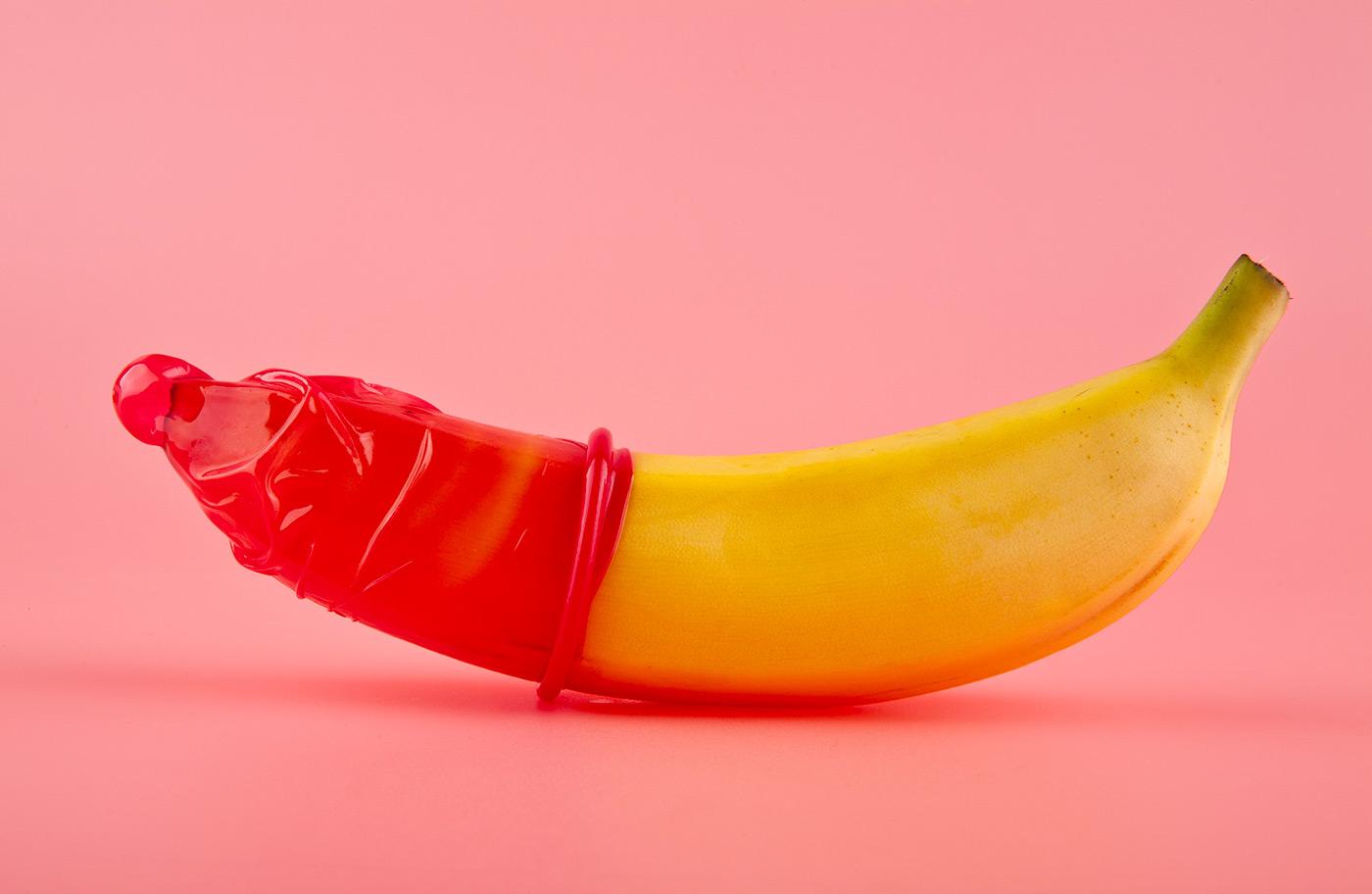 Kondóm na banáne