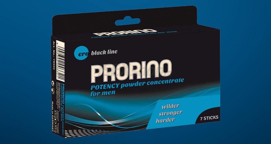 Prorino Potency - prášok na zlepšenie potencie