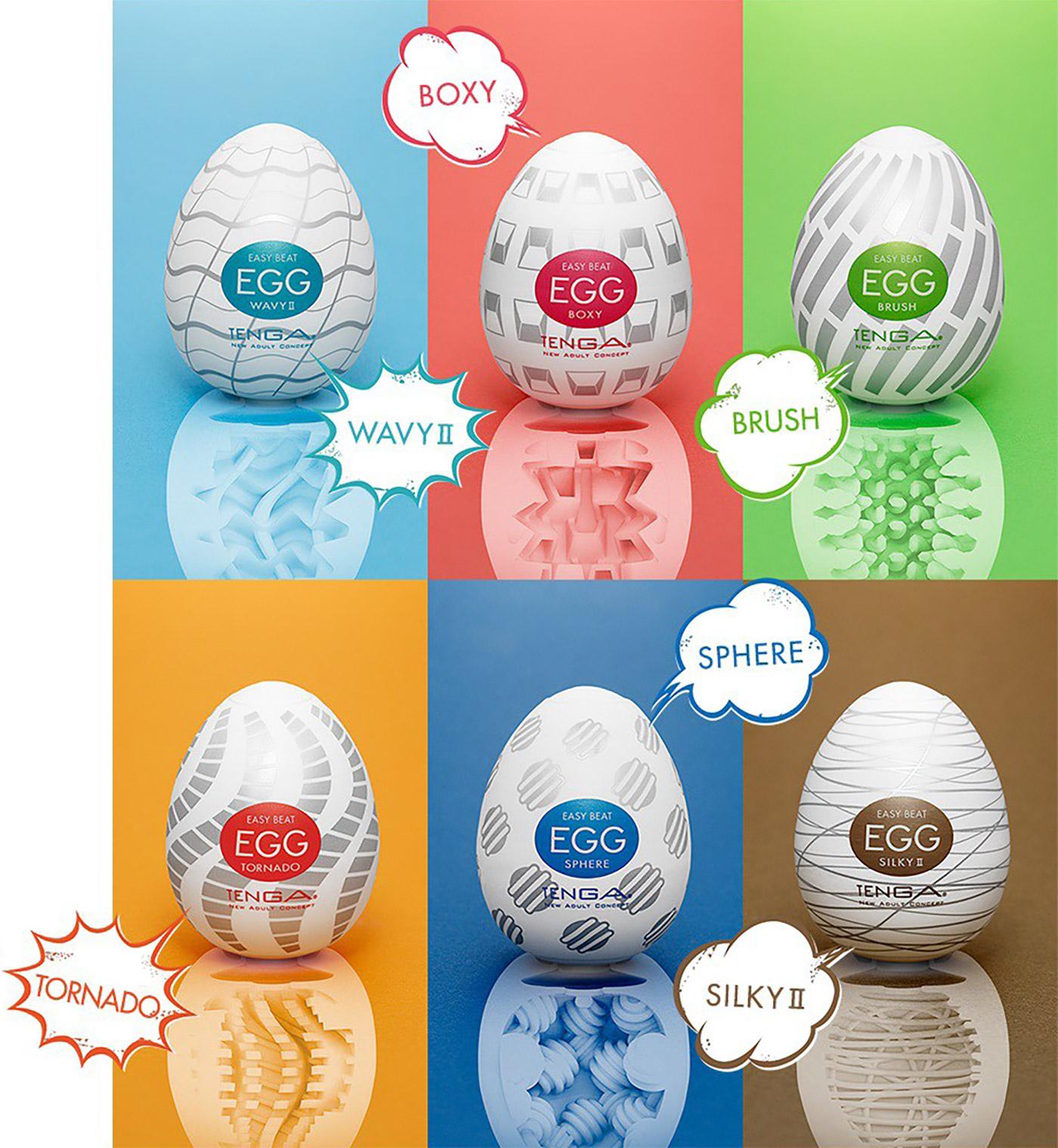 Séria vajíčok Tenga Egg
