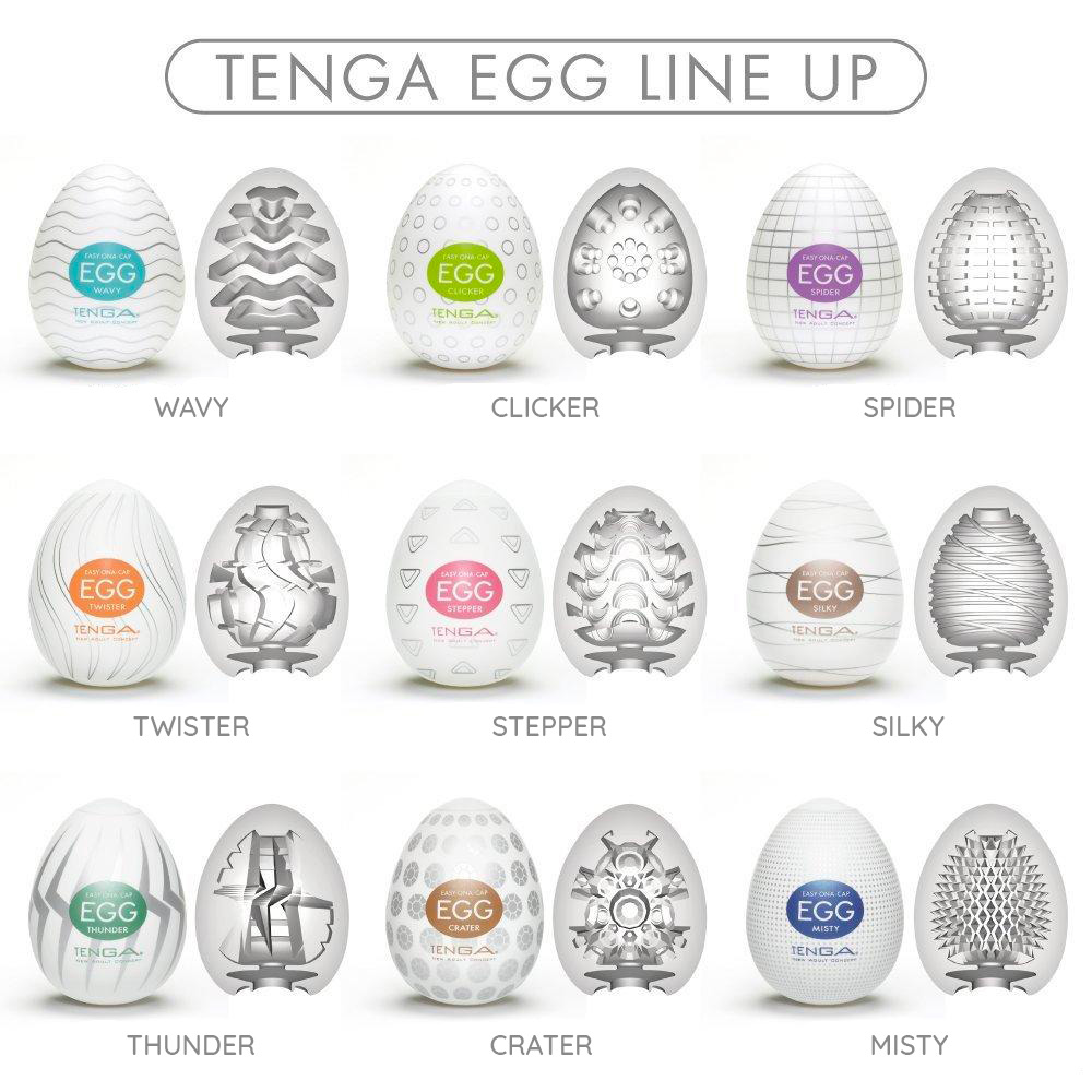 Modelová rada Tenga Egg